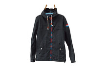 Maloja TiempoM. Softshelljas Heren Waxed Cotton blauw